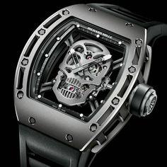 #RichardMille. Skull
