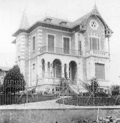 Início do século 20 - Casa da Viscondessa de Parnaíba. Projeto de Ramos de Azevedo.