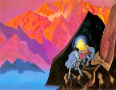 Roerich Paintings | the treasure of the world chintamani