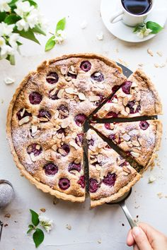 Raspberry bakewell tart is a healthier take on this summer classic. It's easy to make and vegan. Gluten-free and refined sugar-free versions included too.