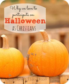 Why we love to participate in activities for Halloween as Christians. Don't hide on this evil holiday. Use this day to spread the Gospel. (Links included for free printable Gospel tracts) Couple Halloween Costumes, Halloween Crafts, Happy Halloween, Halloween Party, Halloween Decorations, Christian Halloween, Christian Kids, Christian Crafts, Harvest Party