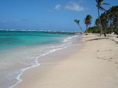 Nisbet beach One of the most beautiful beaches on Nevis, this white sandy stretch has beautiful views of St. Kitts and the azure sea.
