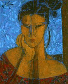 Alfredo Roldan, 'Mujer en Azul', 2015