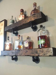 The Best Accent Bathroom Wall Ideas for Your Home - - Diy Bar Diy Home Bar, Bars For Home, Diy Home Decor, Basement Bar Designs, Home Bar Designs, Basement Ideas, Basement Bars, Modern Basement, Industrial Basement
