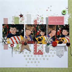 Special+Delivery - Pink Paislee - Merry and Bright Collection - Christmas
