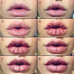"""123 Likes, 4 Comments - Callista Lorian (@makeupformermaidss) on Instagram: """"#Liptutorial. #kyliejennerlips without surgery 1. Start with exfoliated, moisturised #lips & a…"""""""