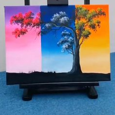 Tryout This Amazing Idea and also Checkout Oil Painting Colors by Clicking the Link... #oilpainting #painting Canvas Painting Tutorials, Diy Painting, Creative Painting Ideas, Painting Ideas For Beginners, Simple Canvas Paintings, Diy Canvas Art, Cool Paintings, Art Painting Gallery, Oil Pastel Art