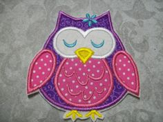 Another Owl Applique