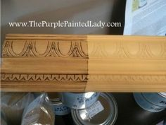 using clear/dark wax over chalk paint-examples/tutorial
