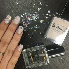 I thought would be the perfect day to show off my griffith gaze/shattered glass combo nails! Hope you like it! Pastel Nail Polish, Shattered Glass, Class Ring, Swatch, Nails, Color, Broken Glass, Finger Nails, Ongles