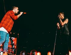 Liam and Zayn performing in Brisbane, Australia for One Direction's On The Road Again Tour - 11/2/15