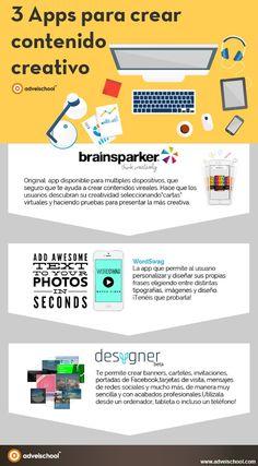 3 APPs para crear contenido creativo