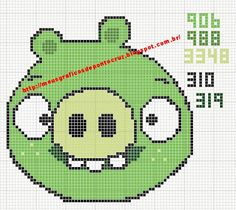 ♥Meus Gráficos De Ponto Cruz♥: Angry Birds em Ponto Cruz (segunda parte)