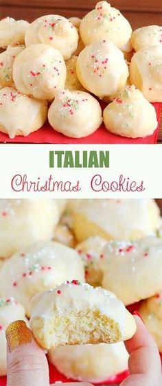 34 Fantastically Festive Christmas Dessert Ideas - Captain Decor These Italian Christmas cookies have become a favorite Christmas recipe at our house. Try them and see for yourself how delicious they are! Italian Christmas Cookies, Italian Cookies, Christmas Sweets, Christmas Cooking, Christmas Christmas, Christmas Foods, Christmas Dessert Recipes, Italian Ricotta Cookies, Traditional Christmas Cookies