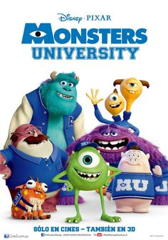 Pixar Animation Studios (Pixar) is an American computer animation film studio based in Emeryville, California. Pixar is a subsidiary of The Walt Disney Company. Monster Inc Party, Monster S, Monsters Inc Movie, Disney Monsters, Party Monsters, Monsters Ink, Mike And Sulley, Mike Wazowski, Billy Crystal