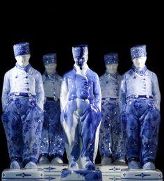 Marcel Wanders, delft blue sculpture