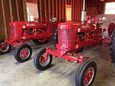 International Tractors, International Harvester, Antique Tractors, Vintage Tractors, Old Farm Equipment, Rubber Tires, Ih