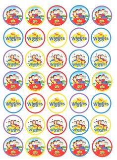 Wiggles Party, The Wiggles, 2nd Birthday, Birthday Parties, Printables, Party Ideas, Decor, Second Anniversary, Decoration