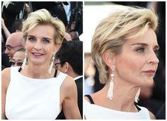 The Best Short Haircuts for Women Over 50: Melita Toscan du Plantier