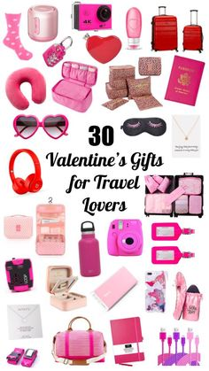 Wondering what to get your travel lover for Valentine's Day? Check out this list of 30 great gift ideas for travelers! Gifts For Boss, Gifts For Women, Gifts For Her, 30 Gifts, Best Gifts, Valentine Day Gifts, Valentines, Best Travel Gifts, Travel Essentials