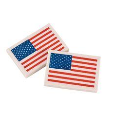 Flag+Erasers+-+OrientalTrading.com