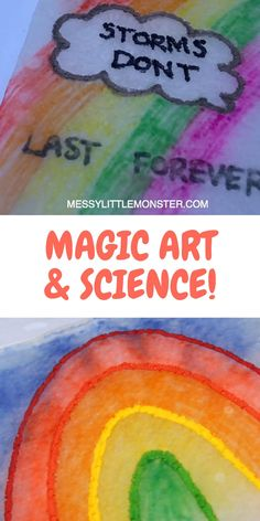 MAGIC PAPER TOWEL ART A fun science experiment and art activity for kids rolled into one. Magic paper towel art is a brilliant indoor activity for kids (or outdoor activity if you like) that kids of all ages will want to try again and again! Cool Science Experiments, Science For Kids, Art For Kids, Science Art, Art For Toddlers, Painting Ideas For Kids, Art Videos For Kids, Summer Science, Science Chemistry