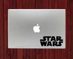 Star Wars Logo Symbol Mac Decals Stickers For Macbook 13 15 Pro Air Decal #RusticDecal