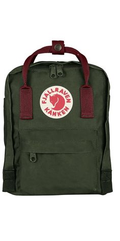The Kånken Mini is a shrunken version of the classic backpack that is suitable for smaller chi