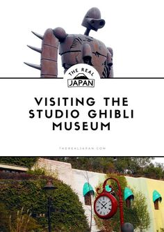 "Visiting The Studio Ghibli Museum You don't have to be an anime fan to have heard of Japanese animation house Studio Ghibli. Even if the name doesn't ring a bell then one of their films might do it. Their 2001 ghostly fantasy ""Spirited Away"" won the Oscar for Best Animated Feature. If you are an anime fan then the Studio Ghibli Museum is a must-see stop in Tokyo if you ever get the chance. If you're not then it is still worth a trip. CLICK THROUGH TO READ ARTICLE"