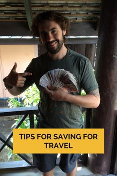 If you are planning on taking a holiday, vacation or extended trip here are our best tips for saving for travel. Find out how we got out of a $25,000 debt and come out on top with money to travel with. Go from being deep in debt to backpacking the world! #traveltips #savingtips #money