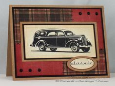 Classic Car by Rox71 - Cards and Paper Crafts at Splitcoaststampers