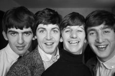 The Beatles~ George, Paul, Ringo and John.