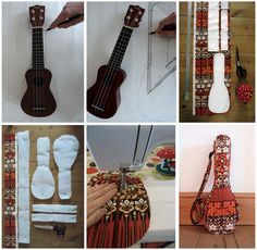 Very talented lady who makes beautiful one off Ukulele cases - I love them x