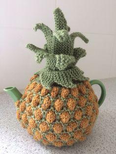 Pineapple tea cosy                                                                                                                                                      More