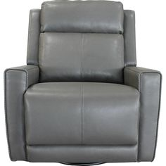 Cabo Glider Swivel Recliner in Gray   Parker House Furniture   Home Gallery  Stores