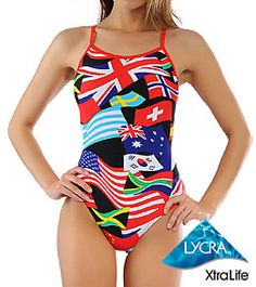 Too bad I don't swim competitively any more... I would definitely get this swim suit.
