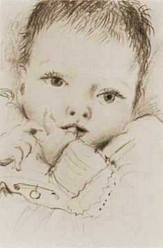 Pablo Picasso – 1935 Maya, the child he had with Marie-Thérèse Walter.