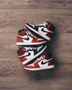 "sweetsoles: ""Nike Air Jordan 1 (by jamiepaige) "" Yeezy, Moda Sneakers, Sneakers Nike, Girls Sneakers, Black Sneakers, Adidas Shoes, Sneakers Fashion, Fashion Shoes, Mens Fashion"