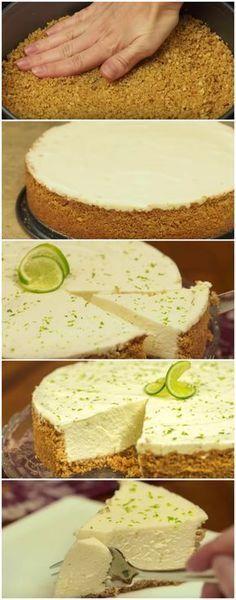 A receita de Torta de Limão mais fácil e deliciosa que você vai encontrar! #torta #tortadelimão #sobremesa