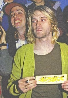 Dave and Kurt Nirvana