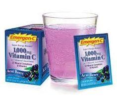 Free sample of Emergen-C vitamin drink!