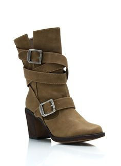 Wrap It Up Chunky Boots $41.00
