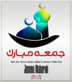 Islamic Images, Islamic Quotes, Juma Mubarak Images, Kaligrafi Allah, Jumma Mubarik, Never Alone, Abayas, Good Morning, Logo Design