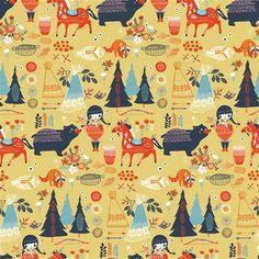 Birch Village Feast Organic Knit - Peek-a-Boo Pattern Shop