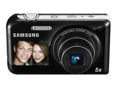 Samsung PL170 : L'appareil photo à double écran LCD indispensable (16 MP, zoom numérique 5 x, capture vidéo HD 720p)