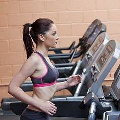 Metabolism-Boosting Treadmill Run With Printable Plan: Push your endurance, raise your heart rate, and rev your metabolism with this interval workout.