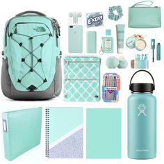 Back To School Supplies For Teens, Cool School Supplies, College School Supplies, School Items, College School Bag, School Bags, School Emergency Kit, School Survival Kits, School Kit