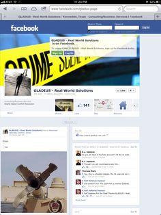 Join TEAM GLADIUS on Facebook!