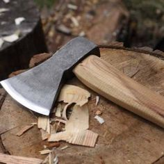 Robin Wood axe: $48. Recommended by Peter Follansbee as a good carving hatchet for spoons and bowls when you don't want to break the budget. I have one now, and it's pretty great!