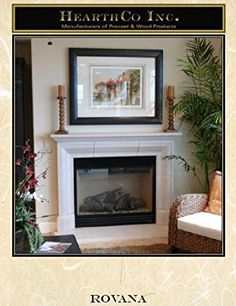 saratoga fireplace mantel mantle surround gypsum precast mantels